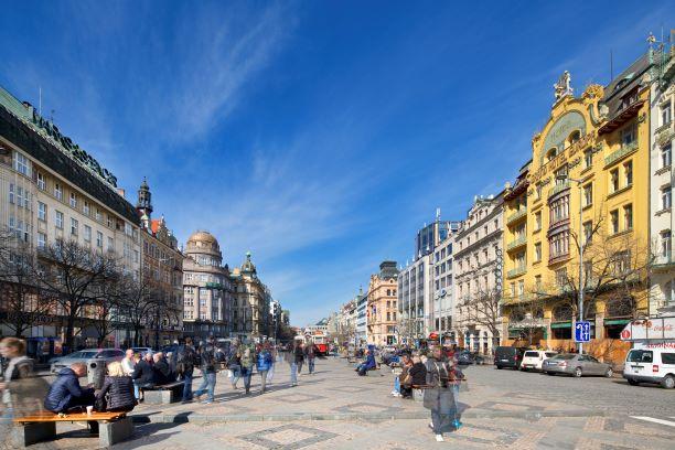 Retail a nájmy na Václavském náměstí